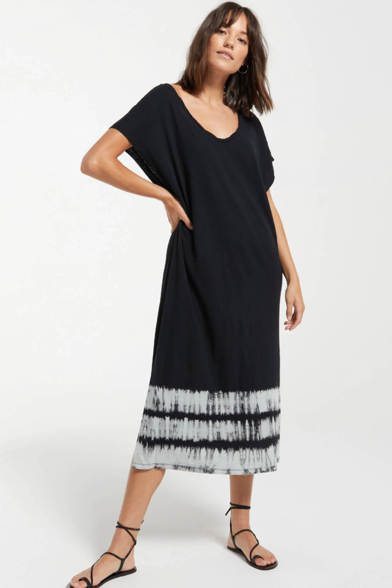 Z SUPPLY </br>Eden Stripe Tie Dye Dress