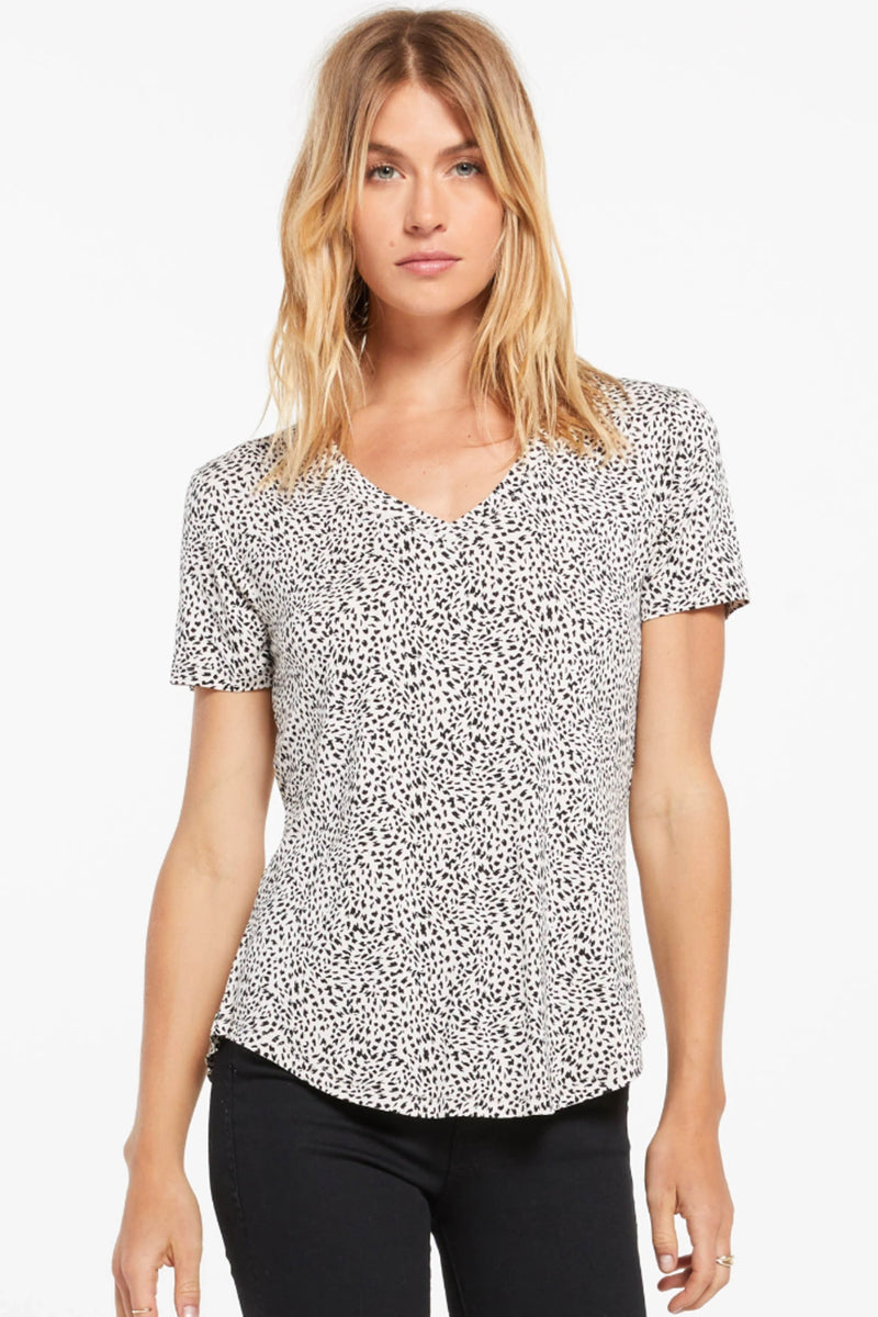 Z SUPPLY </br>Lipa Mini Leopard Tee