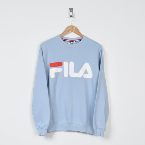 Vintage Fila Sweater Blue Small