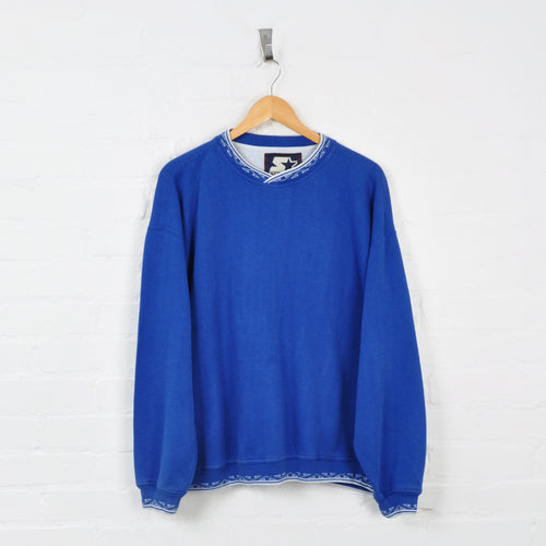 Starter Sweater Blue Large