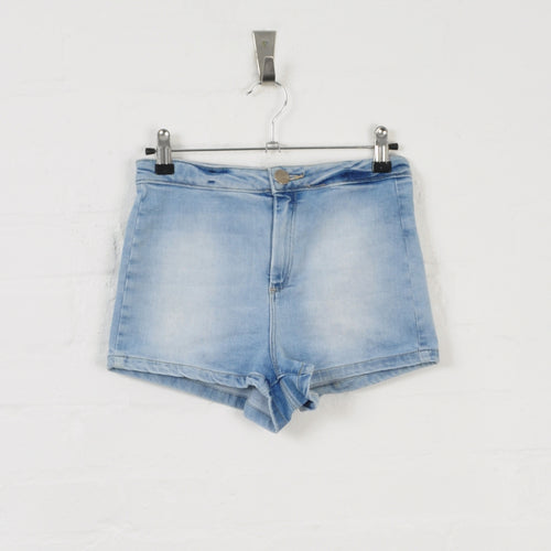 Denim Shorts Light Blue W26 L10