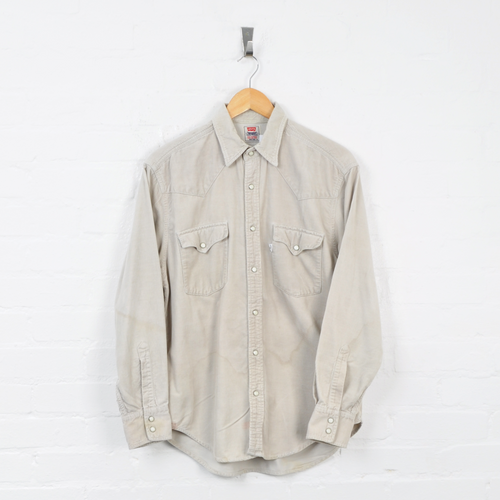 Levi's Corduroy Overshirt Beige Medium