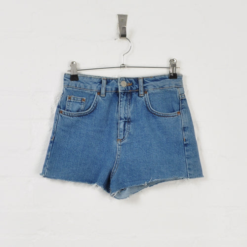 Denim Shorts Blue W24 L11