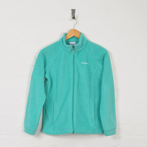 Columbia Fleece Blue Ladies Small