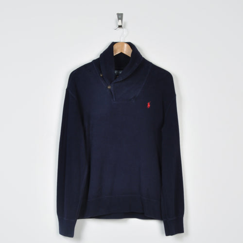 Vintage Polo Ralph Lauren Sweater Navy Small