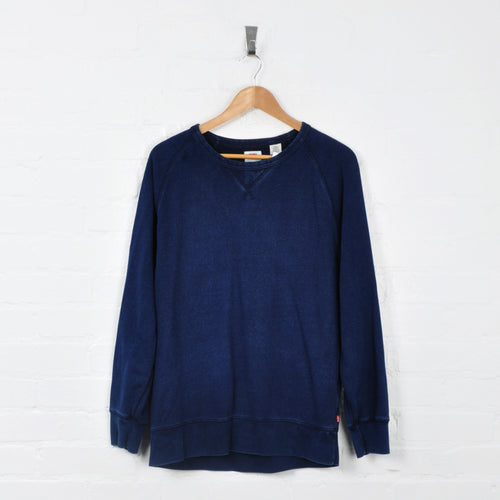 Vintage Levi's Sweater Navy Medium