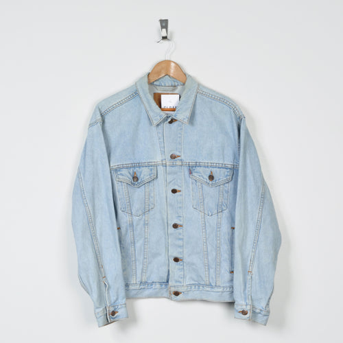 Vintage Levi's Denim Jacket Blue Medium