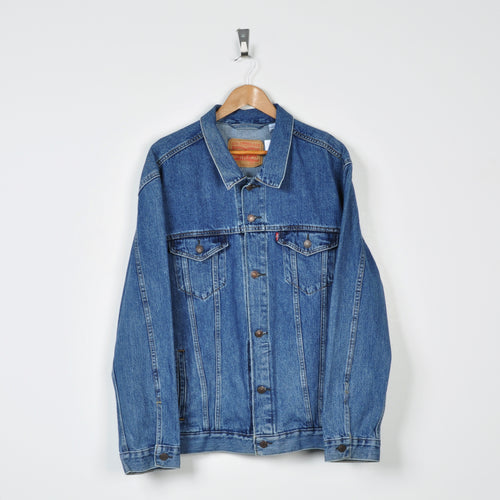 Vintage Levi's Denim Jacket Blue XXL