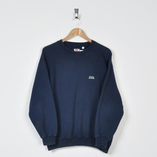 Vintage Levi's Sweater Navy Small