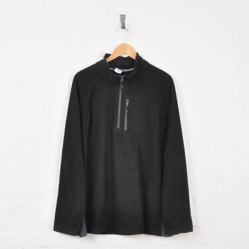 Starter 1/4 Zip Fleece Black XL