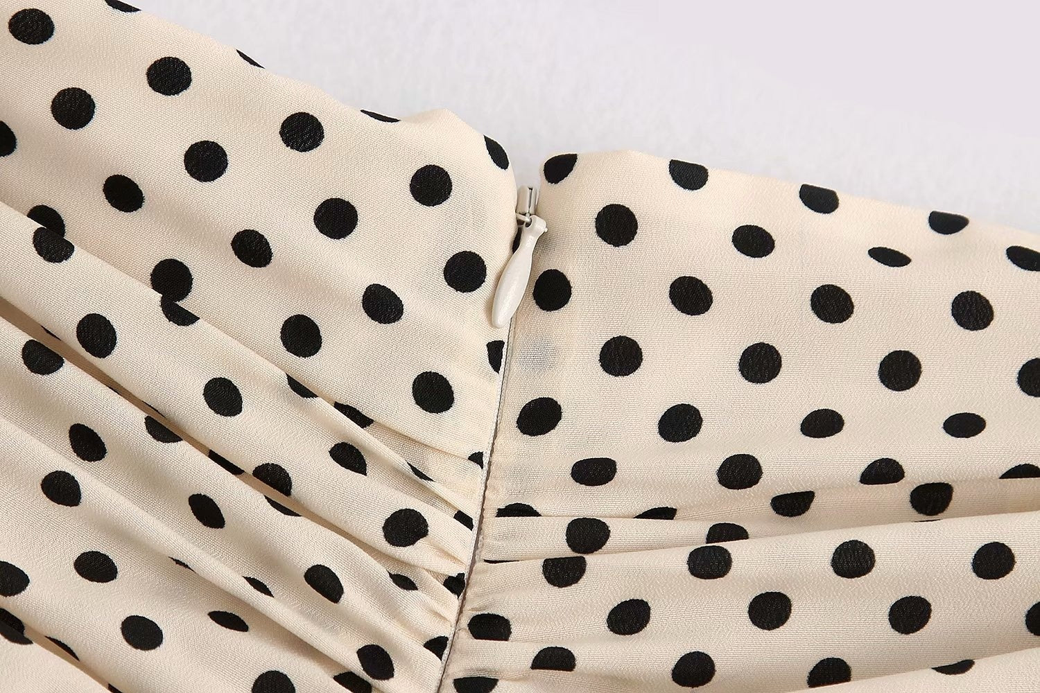 LVs Polka Dots Mini Skirt