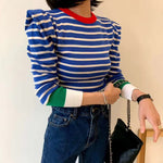 LVs Striped Sweater