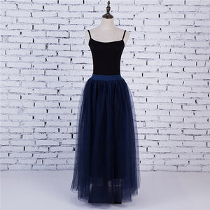 LVs Puffy Tulle Skirt