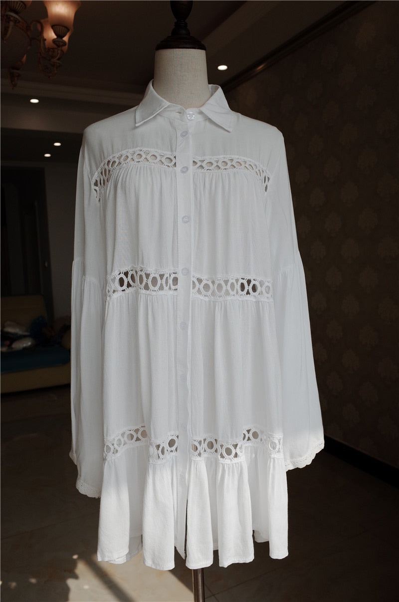 LVs Cotton Beach Dress