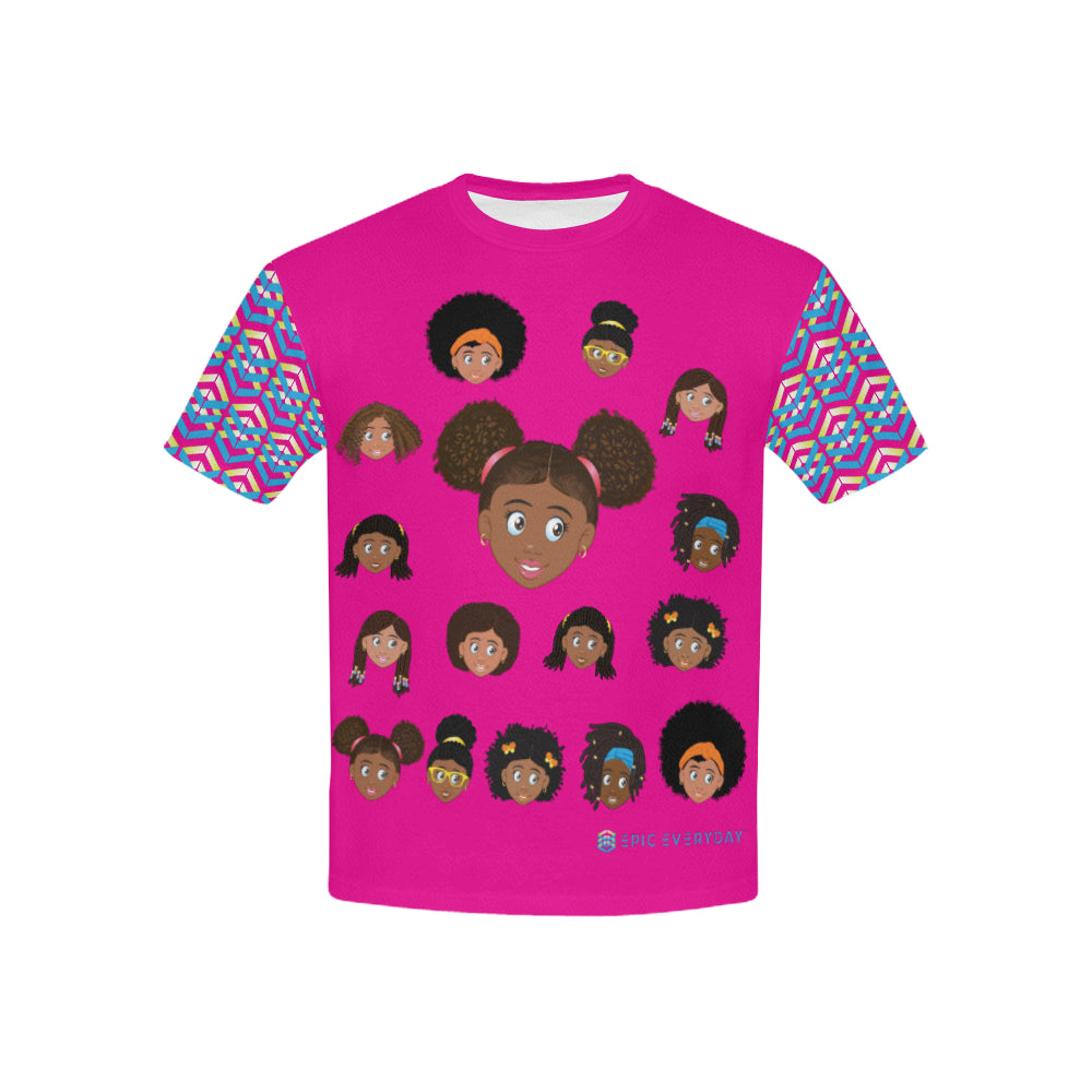 Girls Puffs T-Shirt