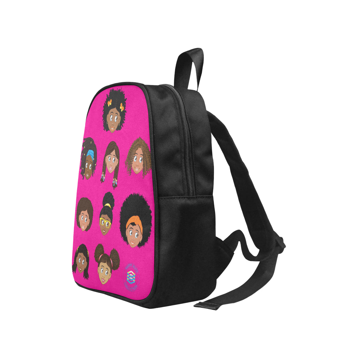 Hot Pink All Girls Mini Backpack