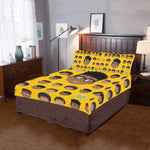 Boy Glasses Twin/Full Duvet Cover Set (inserts are NOT included)
