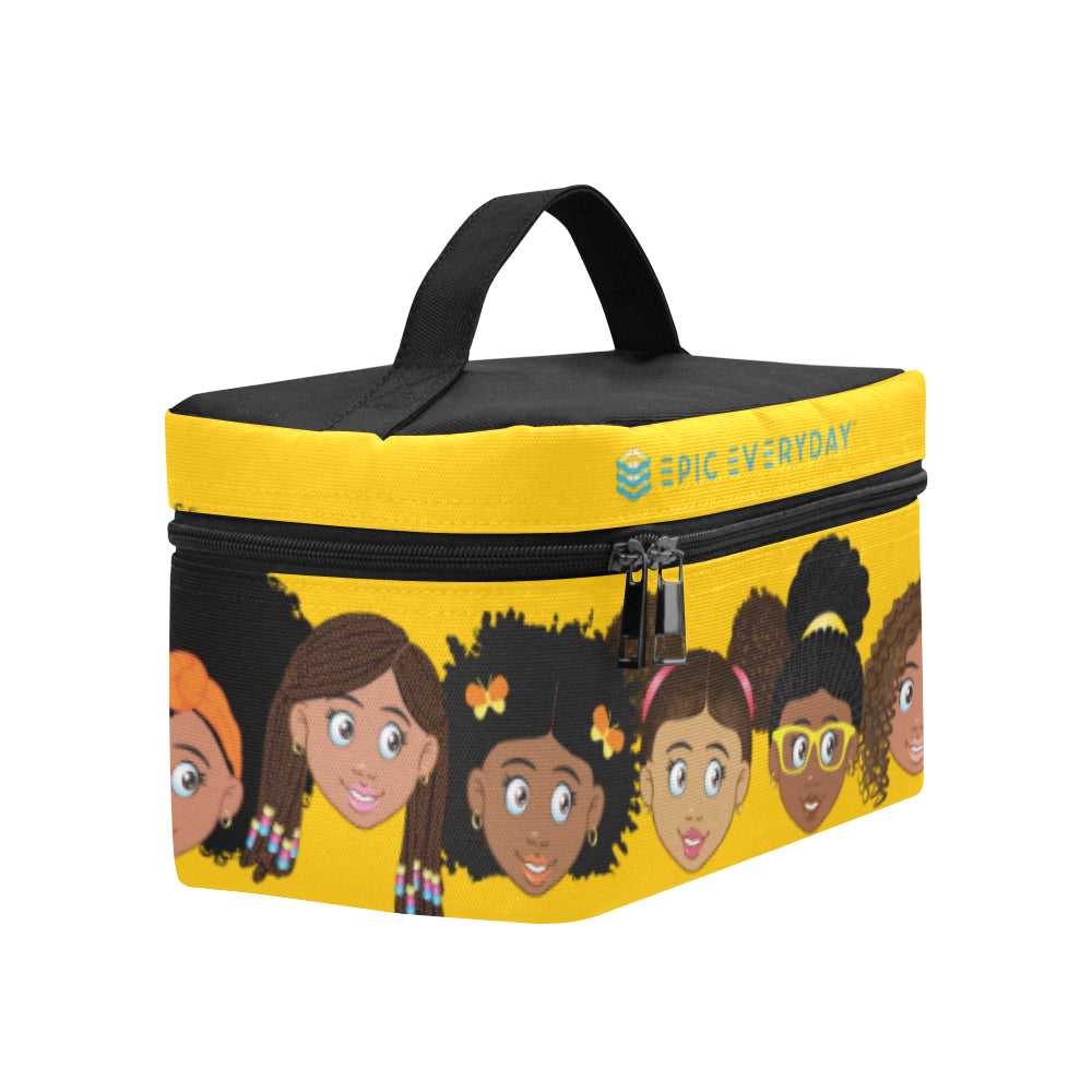 Yellow Girls Lunchbag