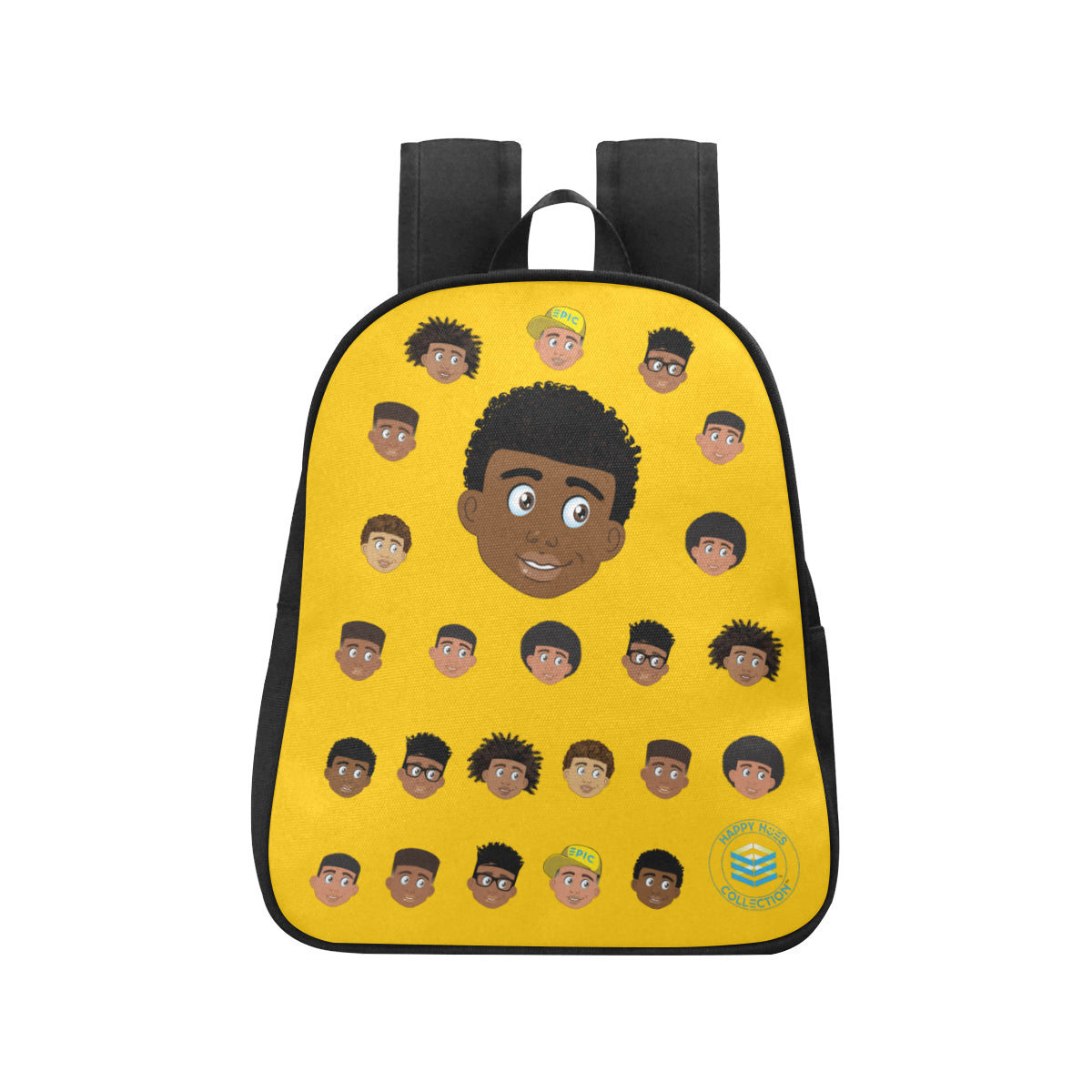 Yellow Boy with Coils Mini Backpack