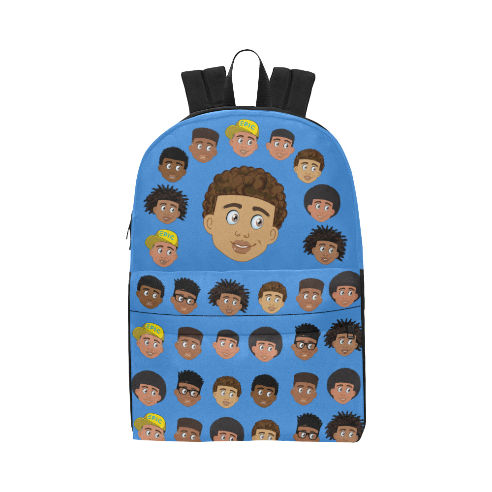 African American Boys Blue EPIC EVERYDAY Backpack