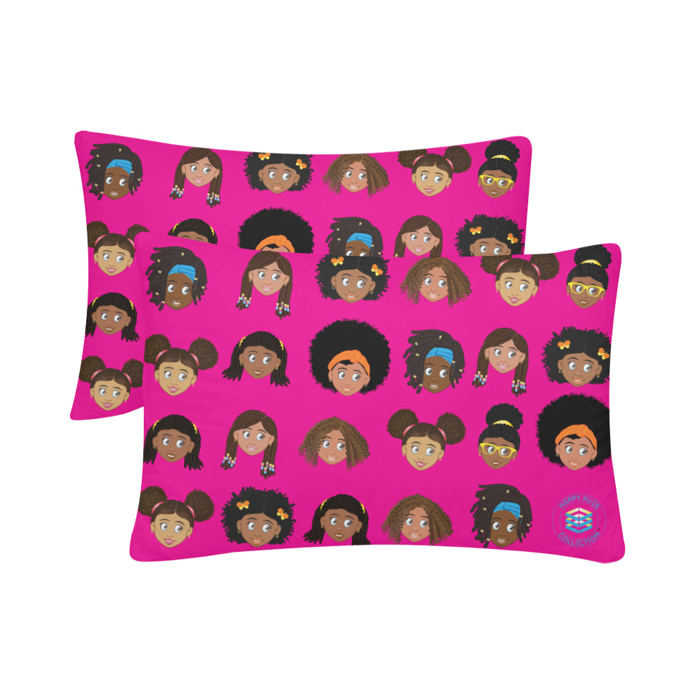 Girls Pillow Case Set
