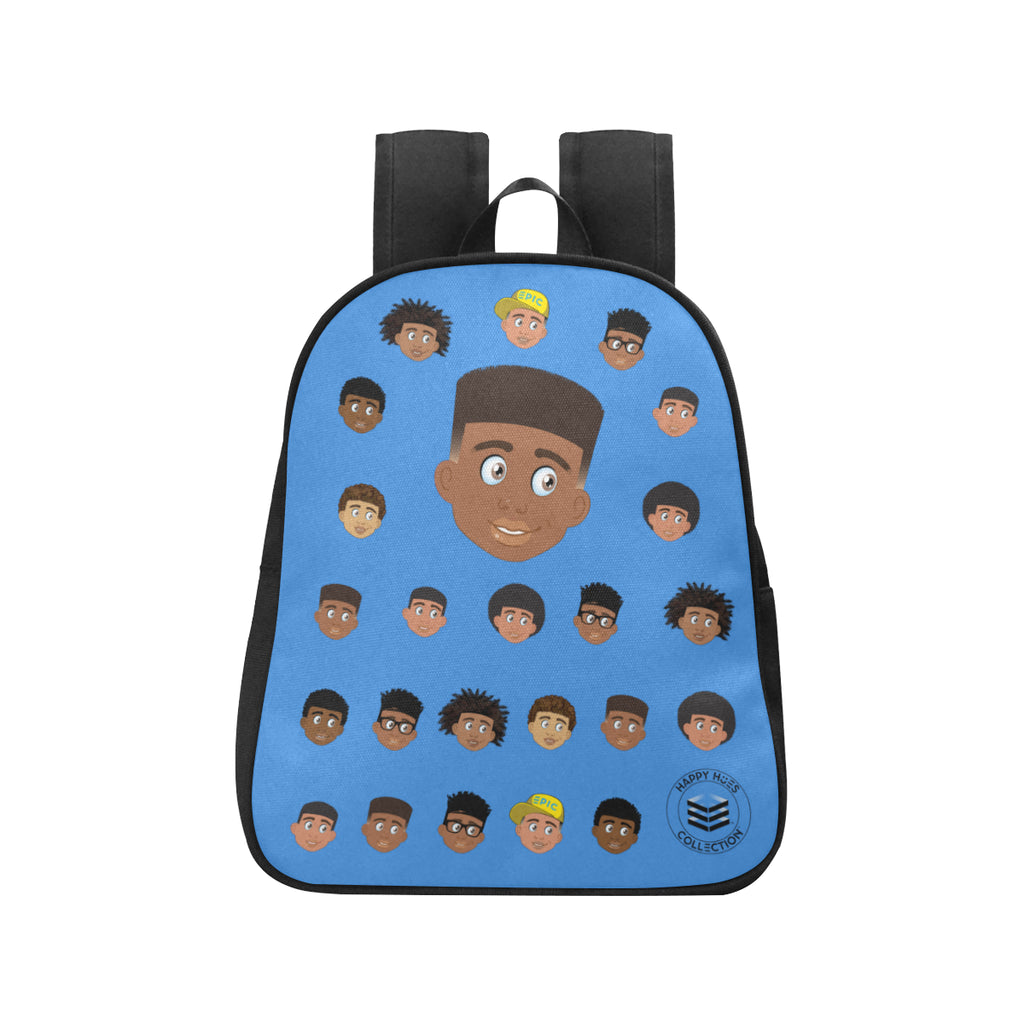 Blue Boy with Hightop Mini Backpack