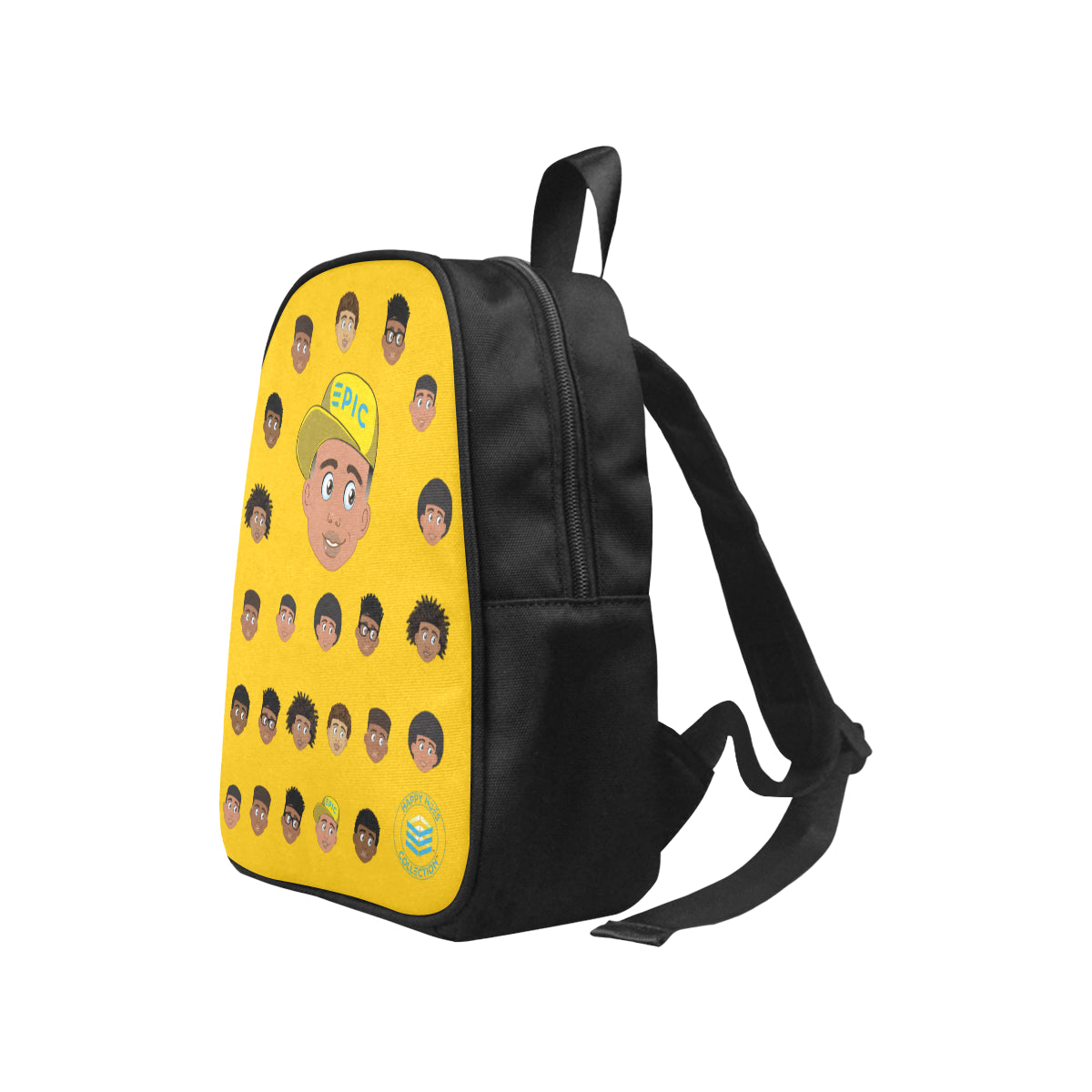 Yellow Boy with Hat Mini Backpack