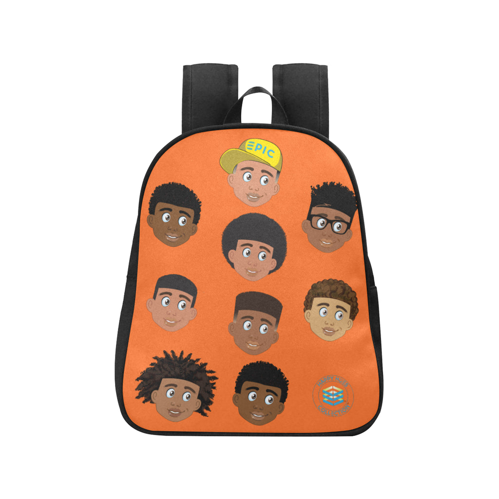 Orange All Boys Mini Backpack
