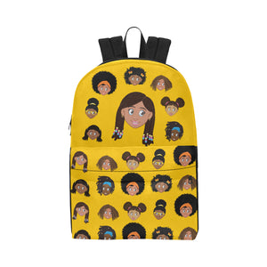 African American Girls Yellow EPIC EVERYDAY Backpack