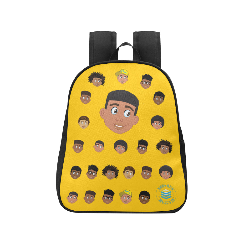 Yellow Boy with Short-Hair Mini Backpack