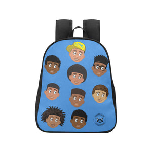 Blue All Boys Mini Backpack