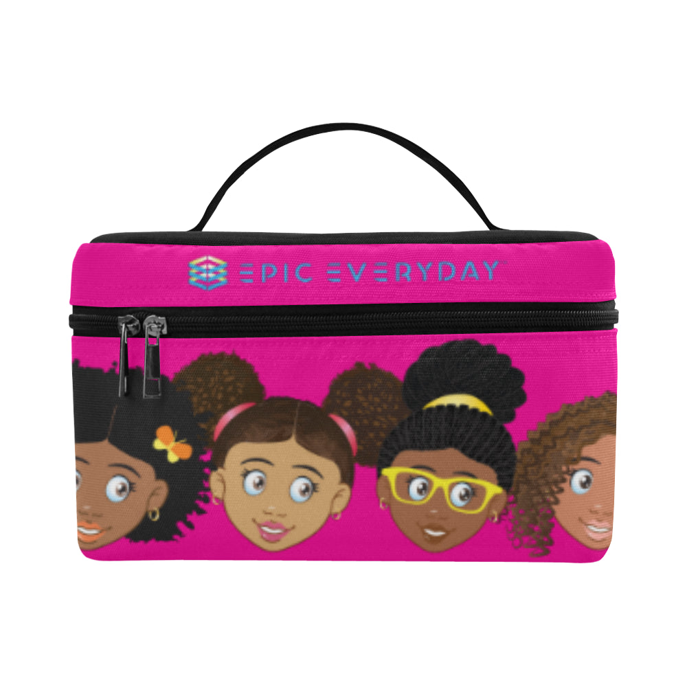 Hot Pink Girls Lunchbag