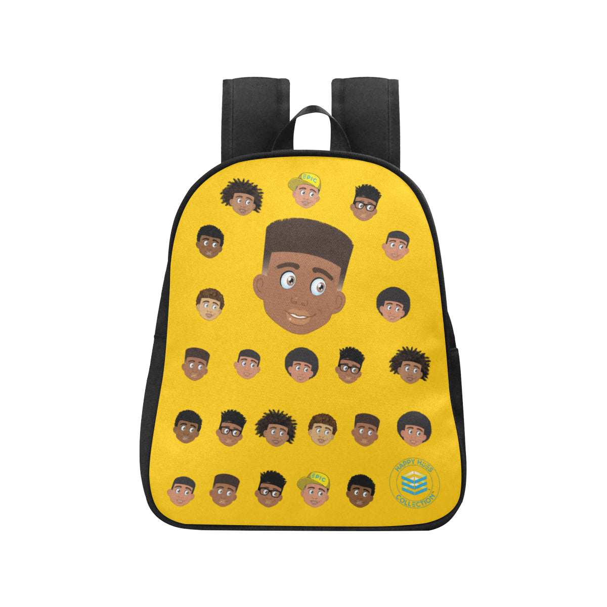 Yellow Boy with Hightop Mini Backpack