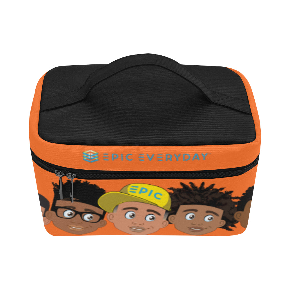 Orange Boys Lunchbag