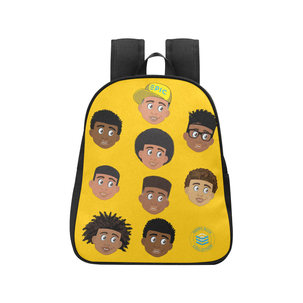 Yellow All Boys Mini Backpack