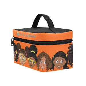 Orange Girls Lunchbag