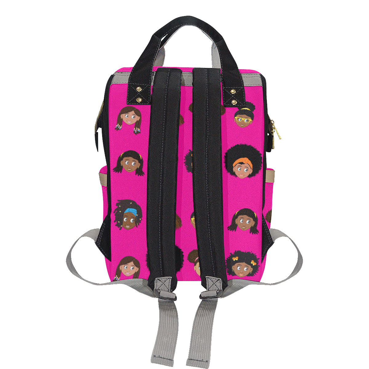 Girls Diaper Backpack