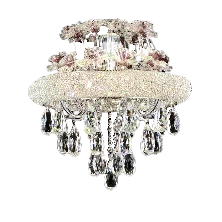 Crystal Chandelier With Large Sized K9 Crystals
