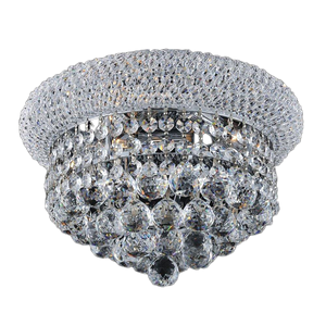 Flush Mount Crystal Beaded Ceiling Fixture