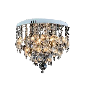 Luxurious Crystal Ceiling Mount  Pendant fixture