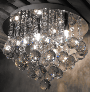 Luxurious Luxury Crystal Raindrop Ceiling Light