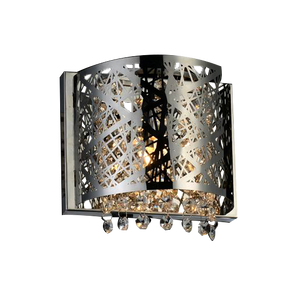 Single Metal Decorative Wall-Mounted Bathroom Light Fixture