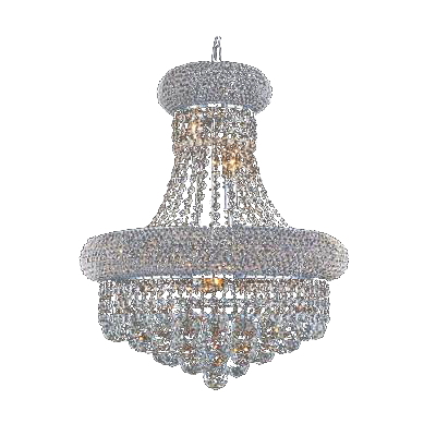 Traditional Crystal Foyer Chandelier