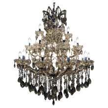Load image into Gallery viewer, Traditional Crystal and Glass Chandelier