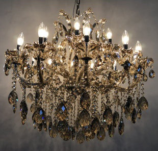 Gloria - Traditional Crystal and Glass LED / Halogen Chandelier