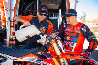 ETS Racing Fuels named official partner of Red Bull KTM Factory Racing Team in the US