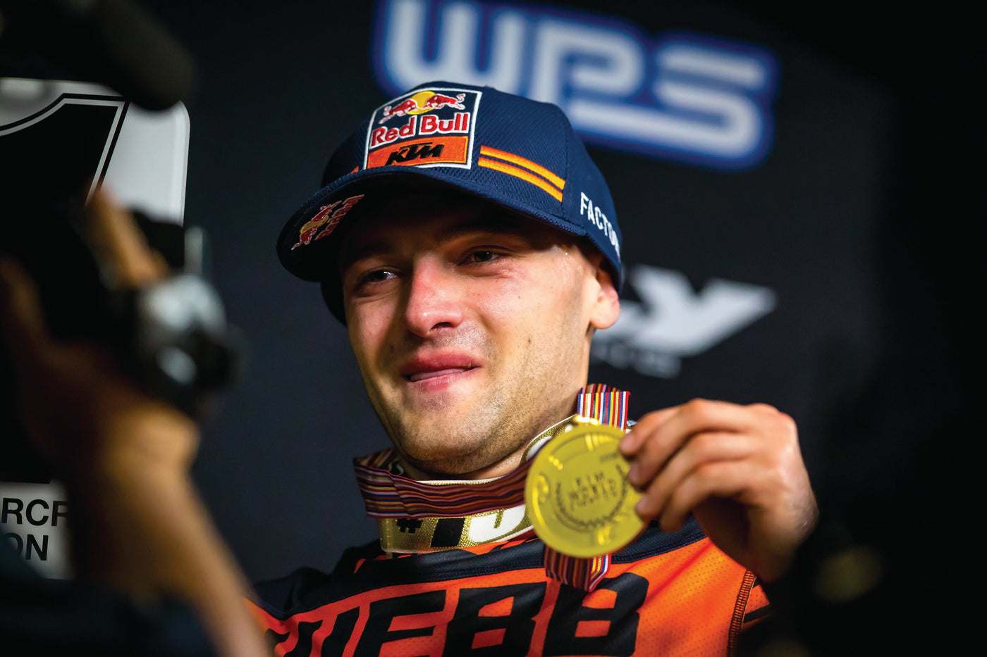 Cooper Webb displays gold medal
