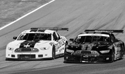 Two GT Cars Race each other