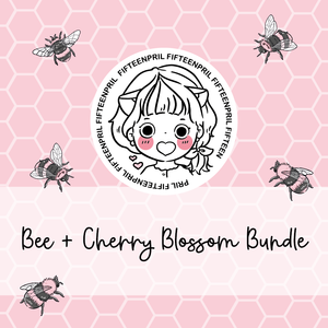 Bee with Cherry Blossom foxigirl themed Bundle-about 25% less! LIMITED Bundles only