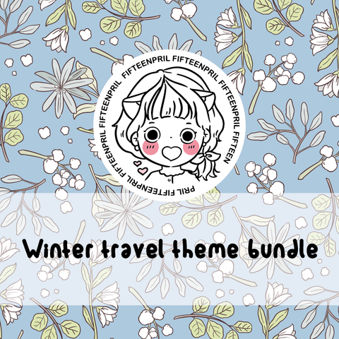 Winter travel foxigirl Bundle-about 30% less! LIMITED Bundles only